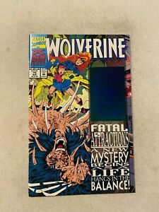 WOLVERINE #75 NM 9.4 BLUE ERROR HOLOGRAM VARIANT
