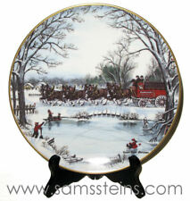1990 Budweiser An American Tradition Holiday Plate