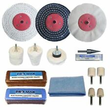 "Aluminium Alloy Brass Metal Polishing Buffing Kit Pro-Max 4"" x 1"""