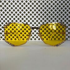 Sonnenbrille Vintage 80s 80er Original Cazal Mod. 245 col. 336 gold sunglasses