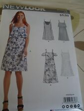 "0613 PATRON  ""SIMPLICITY NEWLOOK 4 VERSIONS ROBE A BRETELLES  36 AU 46"