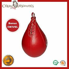 SPEEDBALL SWIVEL PUNCHING BAG SPEED BALL PUNCH BOXING RING EQUIPMENT FITNESS UFC
