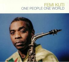 KUTI, Femi - One People One World - CD