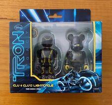 Medicom Kubrick 100% Disney Tron Legacy Clu & Clus's Lightcycle - 2 Pack