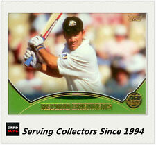 2001-02 Topps Gold Cricket Cards Record Breakers Card R7 Australia VS India (3)