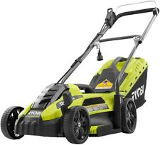 Ryobi Corded Electric Mower Walk Behind Push Garden Backyard Cutting Grass Lawn