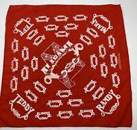 FAE Vintage Alabama country band concert handkerchief bandanna 1983