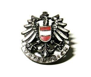 VTG Osterreich Lapel Pin Badge Pinback Austria Souvenir Badge Travel Eagle