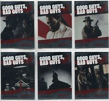 The Spirit [Movie] Complete Good Guys,Bad Guys Chase Card Set GB1-6