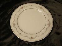 "Vintage Noritake China FAIRMONT Platinum Trim Dinner Plate 10 1/2"",EXCELLENT"