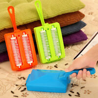 Mini Carpet Rug Roller Brush Dirt Handheld Sweeper Cleaner quickly and easily