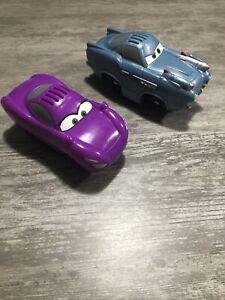 Finn McMissile Holley Shiftwell Talking Cars Disney Pixar Fisher Price Geo Trax
