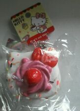 Rare Sanrio Hello Kitty Mascot shortcake squishy