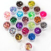Chunky Glitter Pot Festival Face Nail Art Eye Body Tattoo Cosmetic Wine Glass