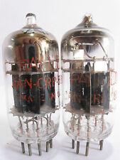 2 matched Raytheon JAN-CRP-5814-A tubes - Black Plates, 3 Mica, Angled  [ ]