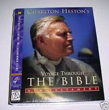 Charlton Heston's Bible Voyage New Testament Mac & Win