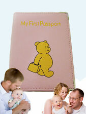 Children's PASSPORT COVER  For Baby or Child Leather