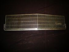 1985 1986 Cadillac deVille Front Radiator Grill Screen Panel 1628538