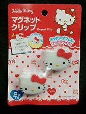 Hello Kitty Sanrio 2pcs Magnet Clips 1.5x1in