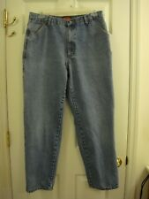 Men's Wolverine Carpenter Fit Blue Denim Jeans Size 36 x 31