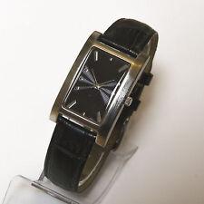 HIRSCH Alpine Damen Armbanduhr Edelstahl Uhr Damenuhr Damenarmbanduhr Leder TOP