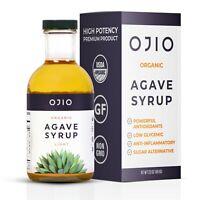 Organic Agave Syrup Extract Light All-Purpose Sweetener Kosher | 500ml - 16.09oz