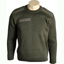 Pull commando kaki Armée Francaise taille 104 (L) en laine pull-over pullover