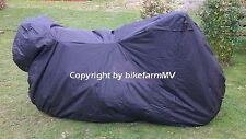 HQ-PVC XXL Soft Plane Motorrad Abdeckplane Faltgarage Chopper Tourer Enduro Bike