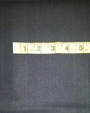 120'S Italian Cashmere Wool Suit Fabric Navy Blue 2.5 Yards MSRP 1595
