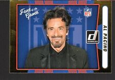 Al Pacino 2016 Donruss Football Fans of the Game insert #2