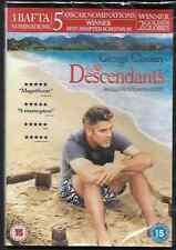 THE DESCENDANTS GENUINE R2 DVD GEORGE CLOONEY NEW/SEALED