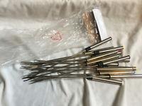 VINTAGE Stainless Steel Fondue Forks Set of 14