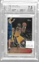 1996 - 1997 Topps Kobe Bryant rookie card BGS 7.5 - Lakers (B)