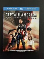 Captain America: The First Avenger (Blu-ray/DVD, 2011, 2-Disc Set)