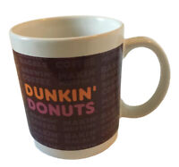 Dunkin Donuts Ceramic Coffee Mug