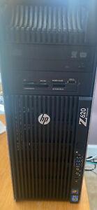 HP Z620 - 2x 6-core Intel Xeon E5-2630V2 2.60GHz, 96GB DDR3, 400GB SATA SSD 800w