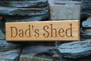 OAK SIGN HARDWOOD  House Door Gate Wooden Sign CNC Carved - Can be Personalised