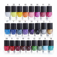 6ml Nail Stamping Polish Nail Art Manicure Stamp Template Varnish Born Pretty
