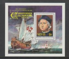 Nevis - 1986, Discovery of America by Columbus sheet - MNH - SG MS383