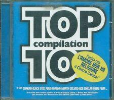 Top 10 Compilation - Checco Zalone/Shakira/Rihanna/Bob Sinclar/Fabri Fibra Cd Ex