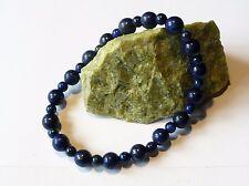 Bracelet élastique Lapis lazuli perles 6-4 mm - naturel bleu pierre fine gemme