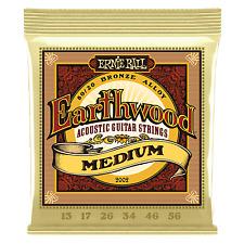 Ernie Ball Earthwood Acoustic Guitar Strings Medium 13 - 56