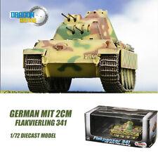 Gragon GERMAN mit 2cm Flakvierling 341 1/72 DIECAST MODEL FINISHED TANK