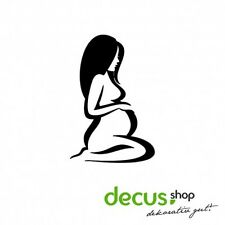 Pregnant Woman Schwangere Frau // Sticker JDM Aufkleber Frontscheibe
