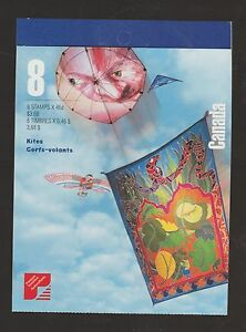 Canada 1999 Kites Booklet MNH Open Cover #BK221 $12