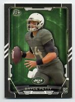 2015 Bowman BRYCE PETTY Rookie Card RC BLACK BORDER PARALLEL #25 New York Jets