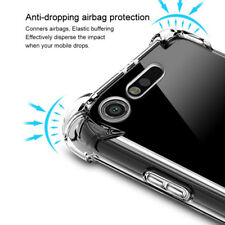 Shockproof Clear Silicone Gel Soft Rubber TPU Case Back Cover For Sony Xperia