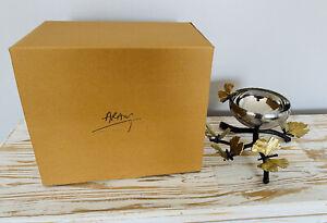 NEW Michael Aram Butterfly Ginko Nut Dish Brass Gold