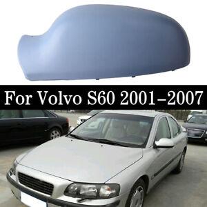 Right Side Mirror Cover Cap Casing For Volvo S60 01-06 S80 99-06 V70 00-06 AL