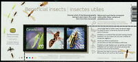 Canada #2409b Beneficial Insects Souvenir Sheet MNH
